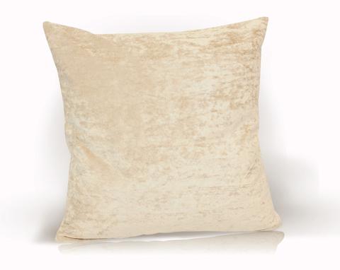 Подушка декоративная Бархат светло-бежевый