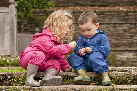 Hippychik (Хиппичик) комбинезон дождевик для детей