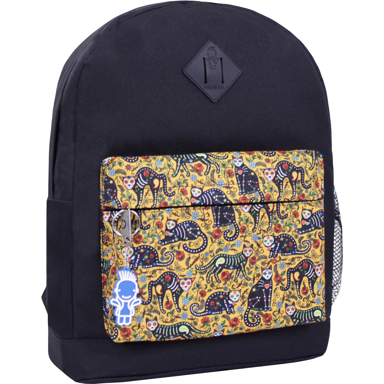 Городские рюкзаки Рюкзак Bagland Молодежный W/R 17 л. черный 452 (00533662) IMG_2421_суб.452_.JPG