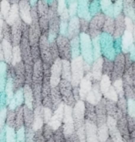Пряжа Alize Puffy Color цвет 6076