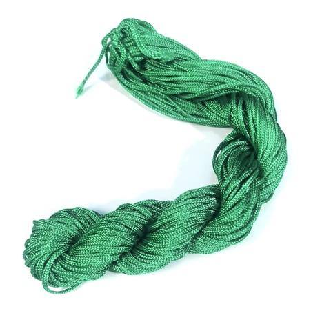 Шнур для плетения (нейлон) 1.0 мм зеленый