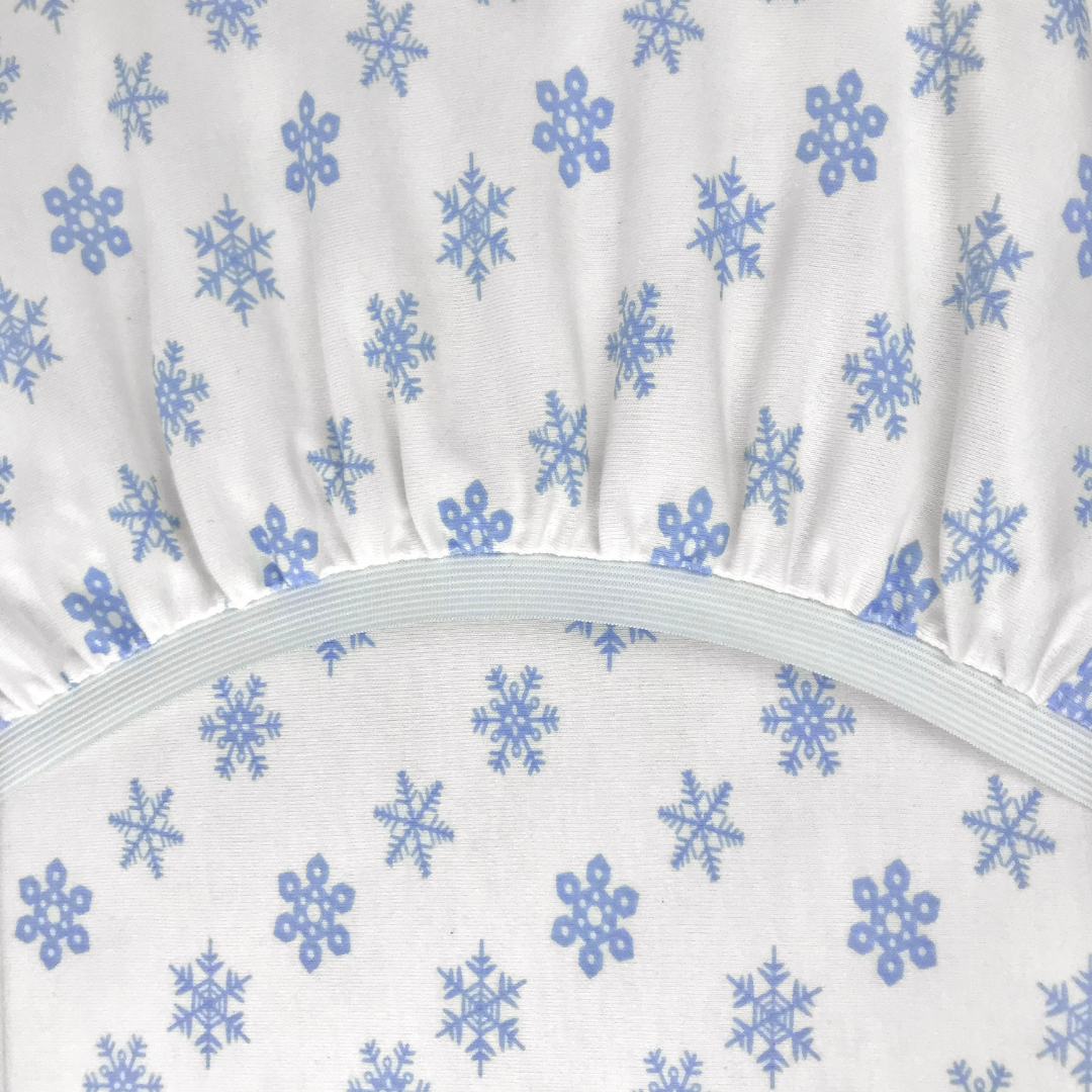 PREMIUM морозко - Круглая простыня на резинке диаметр 220