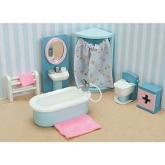 Кукольная мебель Бутон розы Ванная, Le Toy Van
