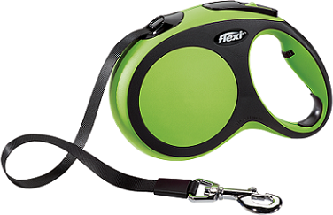 Рулетки Поводок-рулетка Flexi New Comfort L (до 60 кг) лента 5 м черный/зеленый 92fb6529-3797-11e6-80f8-00155d29080b.png