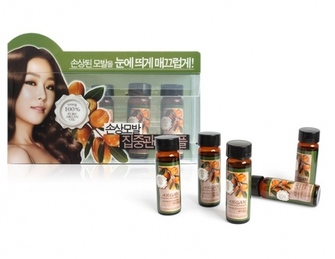 WELCOS Confume Набор ампул для волос с аргановым маслом Confume Argan Treatment Hair Ampoule 15мл*5