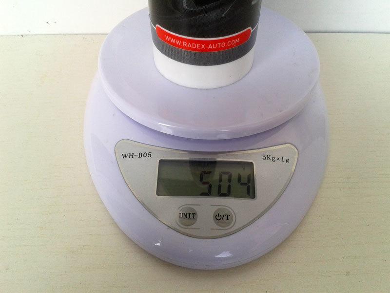 Вес одной тубы клея-герметика Radex 901 500 грамм