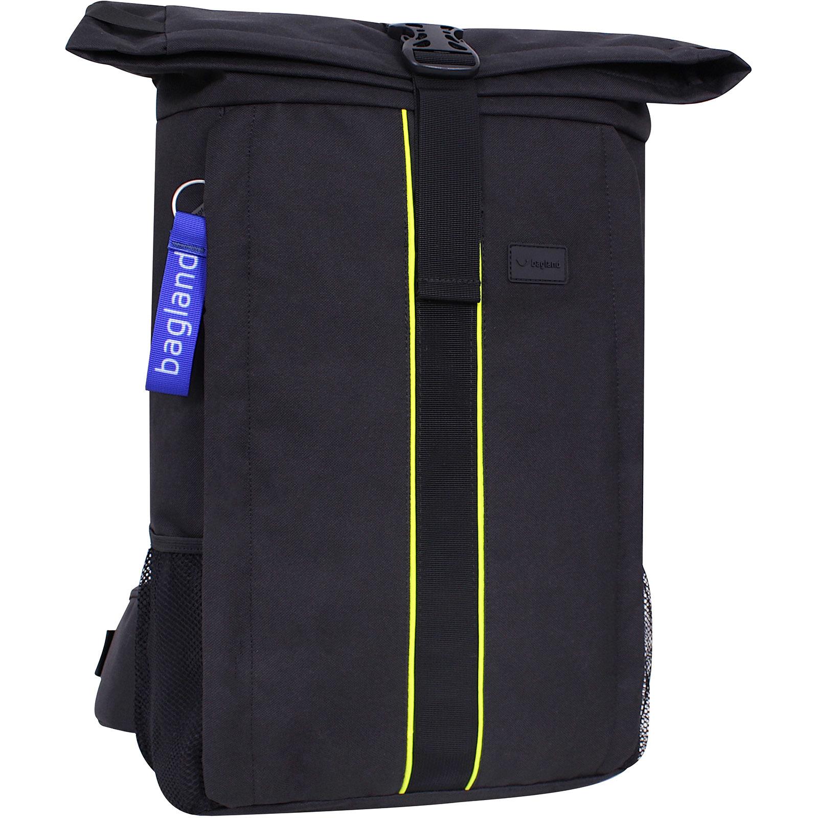Рюкзак для ноутбука Bagland Roll 21 л. Чёрный (0015666)