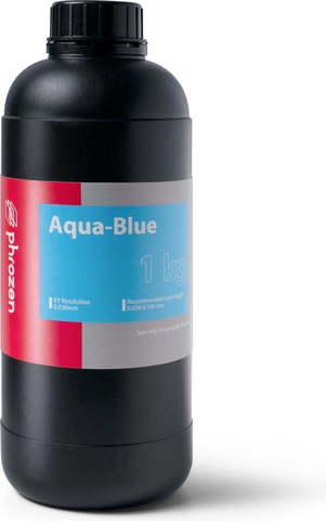 Фотополимер Phrozen Aqua Blue, голубой (1 кг)
