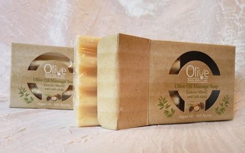 Мыло с аргановым маслом Olive Beauty Medi Care