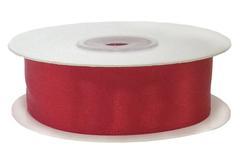 Лента атласная Красный, 38 мм x 22,85 м