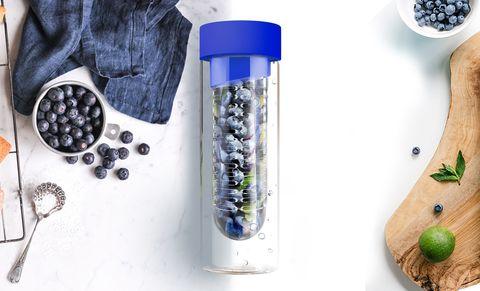 Бутылка Asobu Flavour it (0,6 литра), голубая