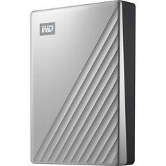 Внешний HDD Western Digital 4TB My Passport Ultra USB-C 3.0 (Серебристый) WD