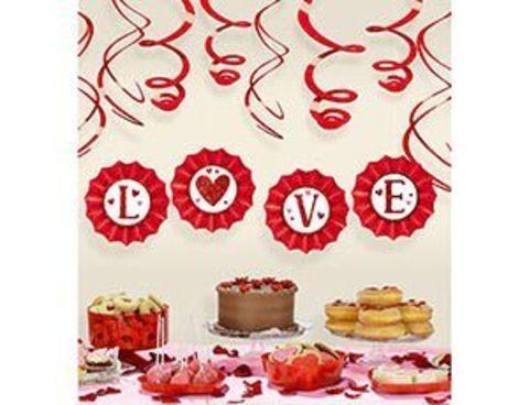 1501-4995 Декор-комплект LOVE 12шт/А