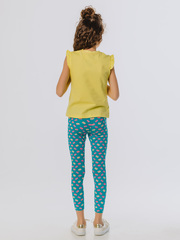 Леггинсы (брюки) детские эластичные с принтом купить
