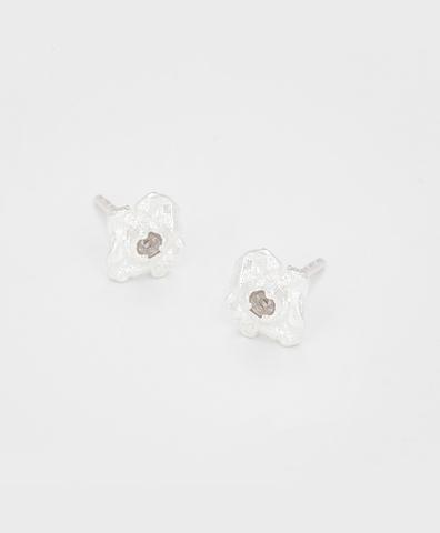 Серьги Diamond Rain silver (S)