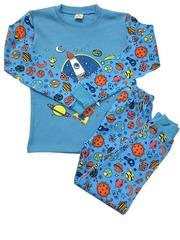 42D-1 пижама детская, голубая