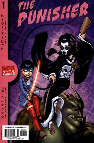 The Punisher. Mangaverse #1