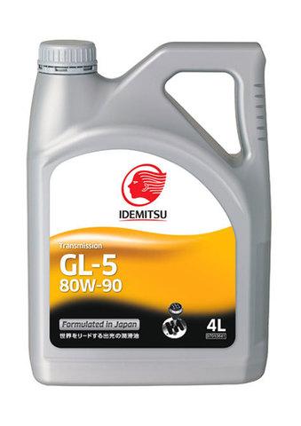 IDEMITSU 80W-90 GL-5  Трансмис. жидкость для дифференциала (пластик Сингапур)