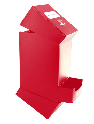 Deck'n'Tray Case 100+ Standard Size Red