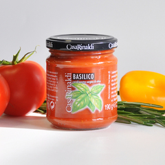 Соус Casa Rinaldi томатный с базиликом 190г