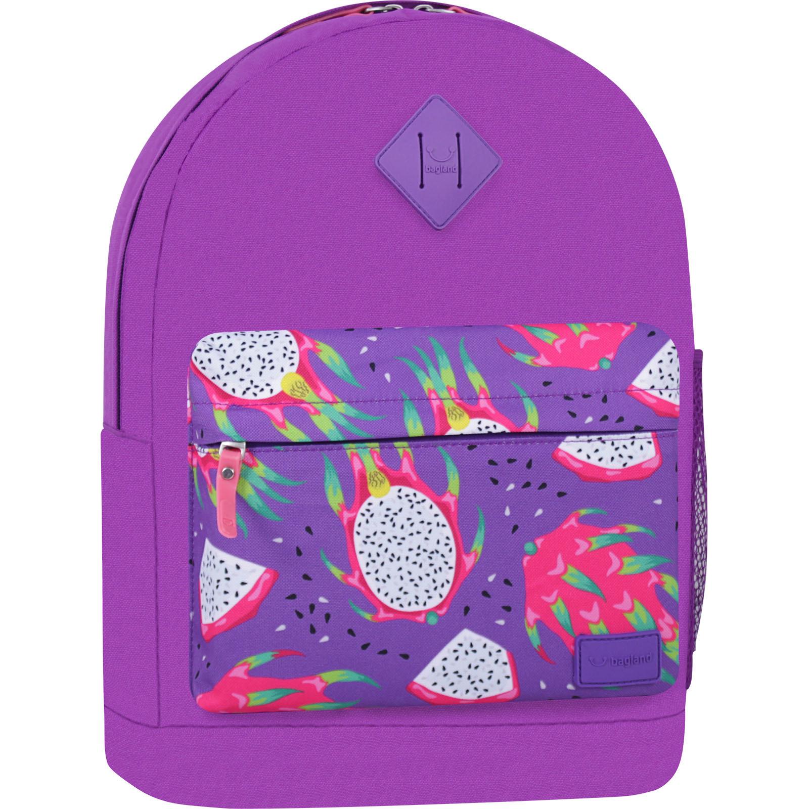 Рюкзак Bagland Молодежный W/R 17 л. 170 Фиолетовый 759 (00533662) фото 1