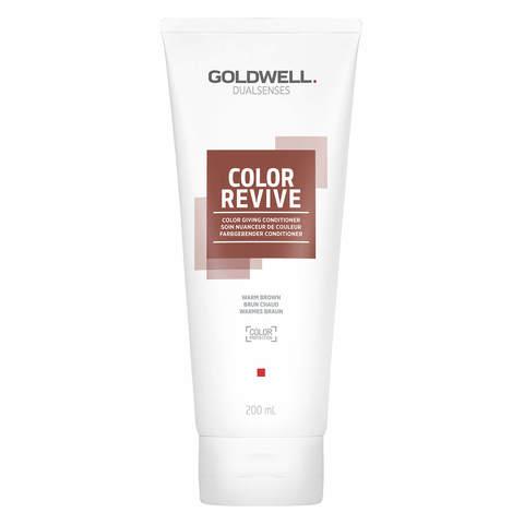 Тонирующий кондиционер,  Goldwell Dualsenses Color Revive Conditioner warm brown, 200 мл.