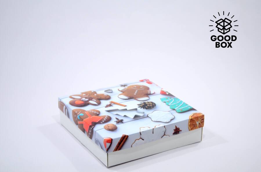 Новогодняя коробка в Алматы