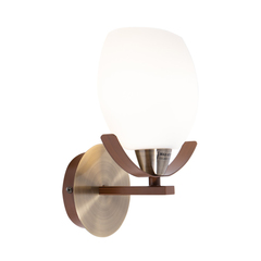 INL-9210W-11 Antique brass & Walnut