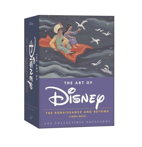 CHRONICLE: The Art of Disney: The Renaissance and Beyond (1989-2014). 100 Collectible Postcards