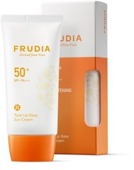 Солнцезащитная тональная крем-основа Frudia Tone Up Base Sun Cream (SPF50+ PA+++)