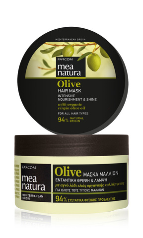 Оливковая маска для волос MEA NATURA