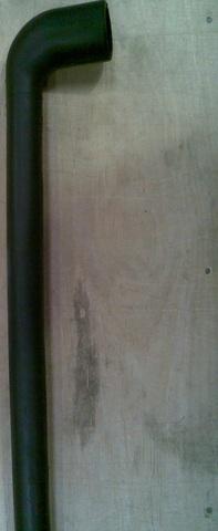 25643030 Шланг резиновый для соединения молокоприемника с насосом, диа.38/25 х 530 мм