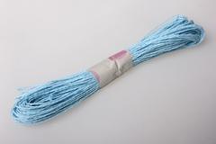 Шнур бумажный Голубой 2мм*47 м