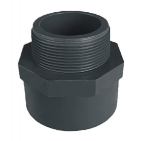 Переход ПВХ c НР 1,0 МПа диаметр 25х3/4