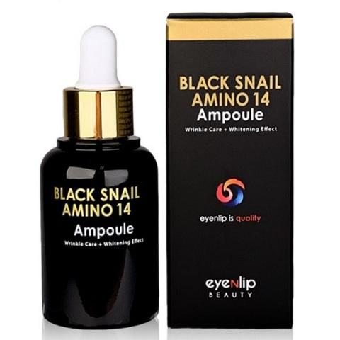 Eyenlip Black Snail Amino 14 Ampoule сыворотка для лица ампульная с аминокислотами и муцином черной улитки