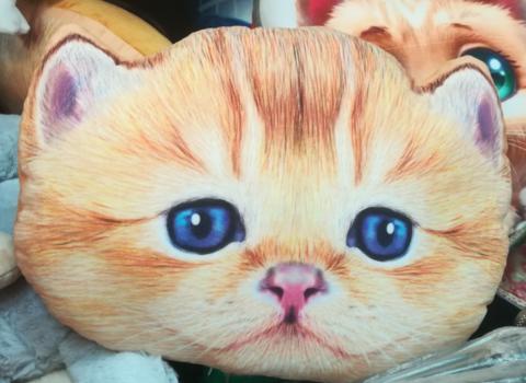 Подушка кот (90 СМ)