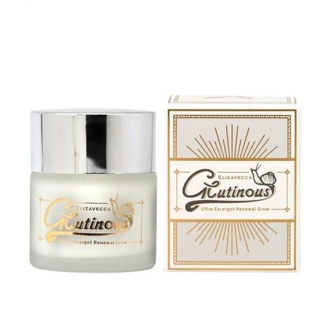 Крем для лица улиточный антивозрастной Elizavecca Glutinous Cream 50ml
