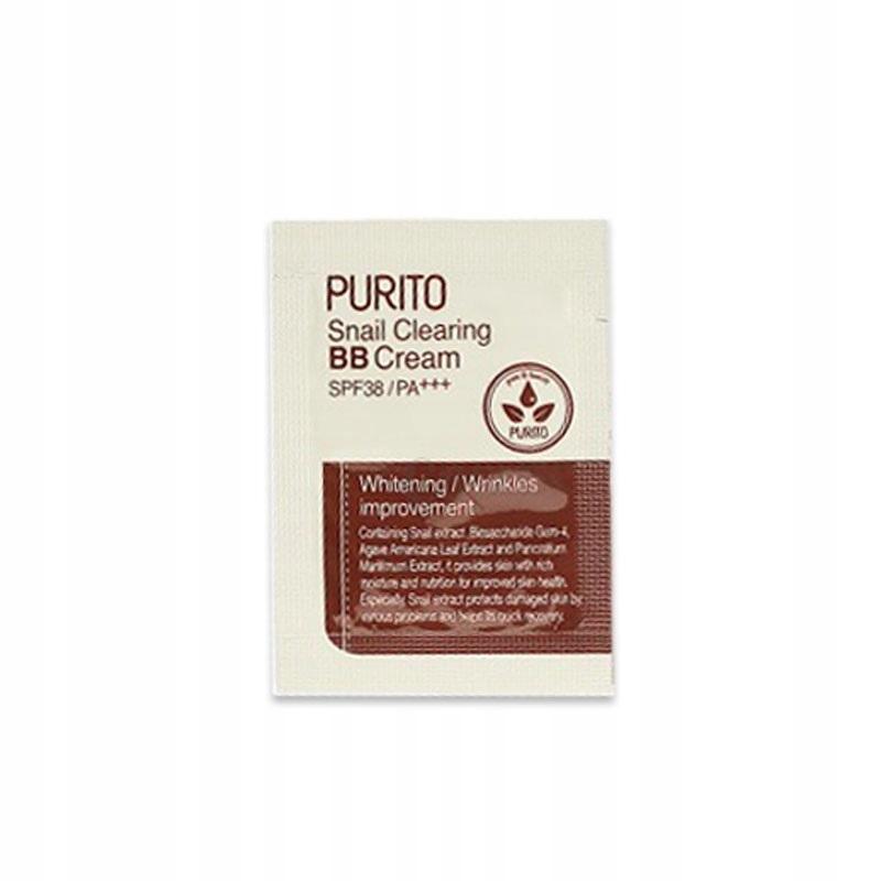 PURITO ВВ-кpeм PURITO Snail Clearing BB cream #27 Sand Beige (sample) 7cd6223c449a8d44795961bbd895.jpg