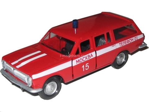 GAZ-2402 Volga Fire Staff Agat Mossar Tantal 1:43