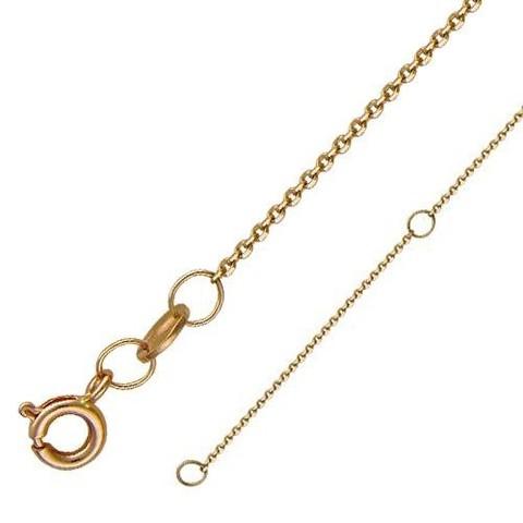 01Ц7100230R Цепь якорного плетения  из золота 585 пробы