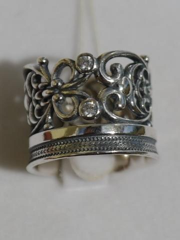 Корона  (кольцо из серебра)