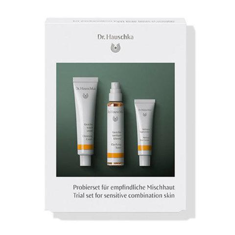 Набор пробников для кожи смешанного типа (Trial set for sensitive combination skin) Dr.Hauschka