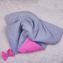 Демисезонный конверт-одеяло  Mini (розовый)
