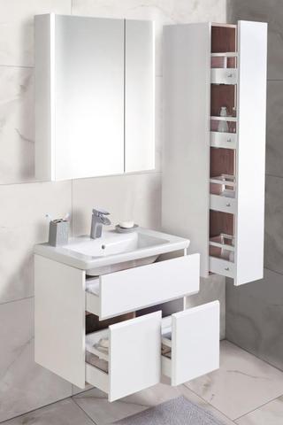 Комплект мебели Roca Up 60 см (тумба с раковиной+зеркальный шкаф+пенал)