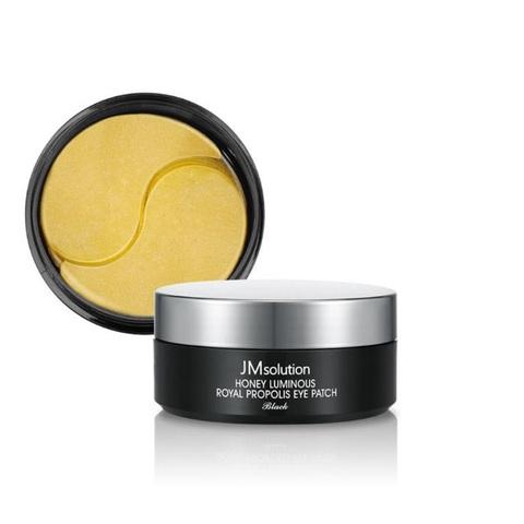 JMsolution honey luminous royal propolis eye patch гидрогелевые патчи для кожи вокруг глаз с прополисом и пептидами