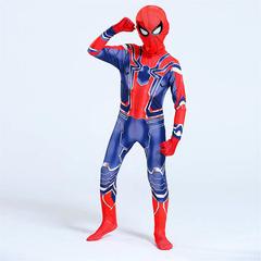 Человек паук костюм Железного Паука детский и взрослый
