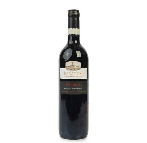 ღვინო ხვანჭკარა ბადაგონი 0.75ლ