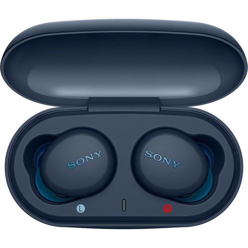 Наушники Sony WF-XB700L в зарядном чехле
