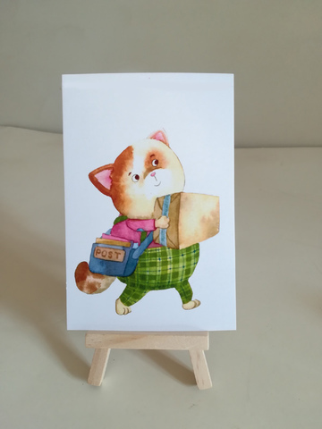 Котик- почтальон