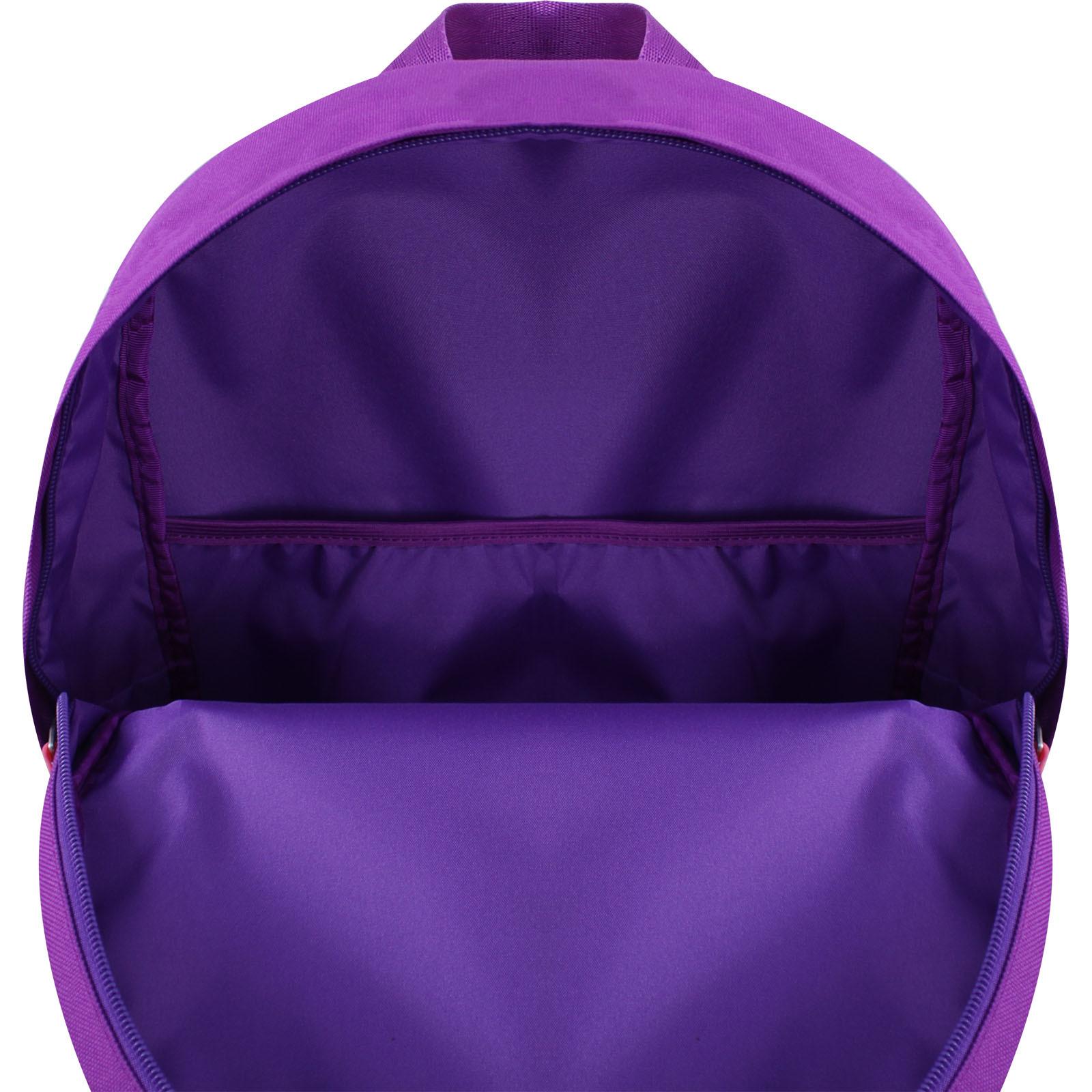 Рюкзак Bagland Молодежный W/R 17 л. 170 Фиолетовый 759 (00533662) фото 5